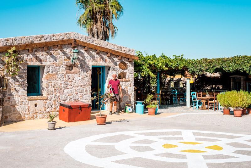 kos restaurants traditional house kefalos