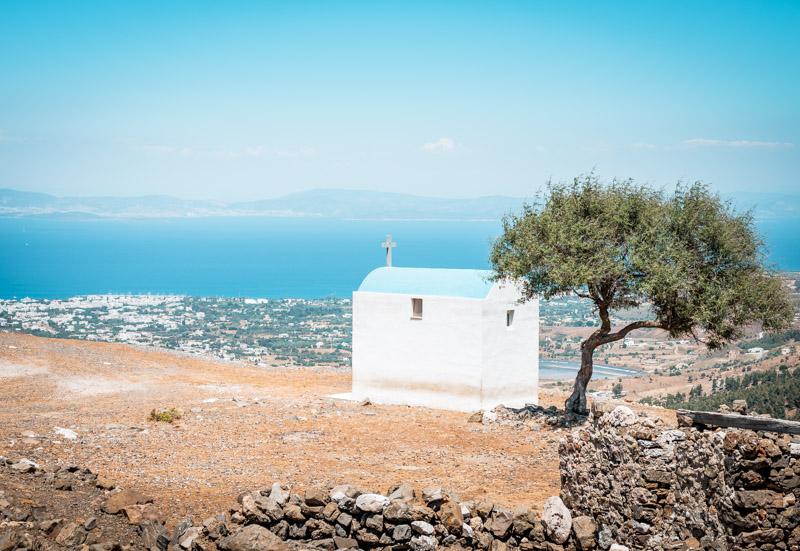 Kos-Touren-Weiße-Kirche-Griechenland