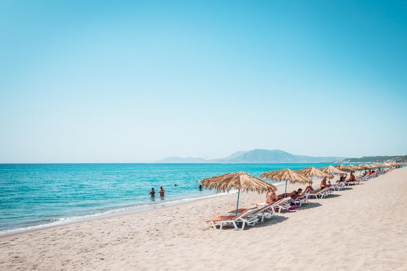 wetter kos strandurlaub august